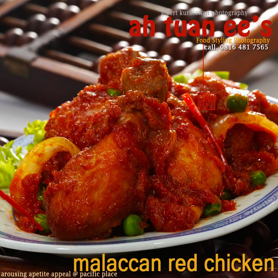 malaccan red chicken