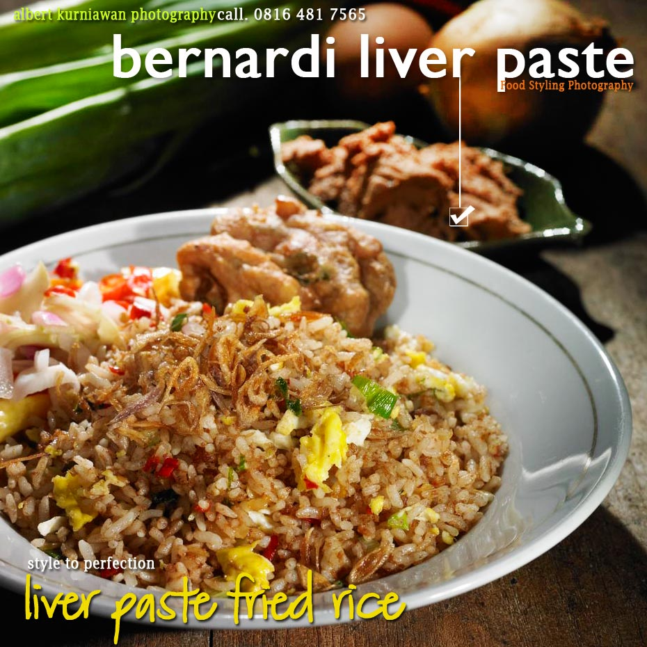 liver paste fried rice