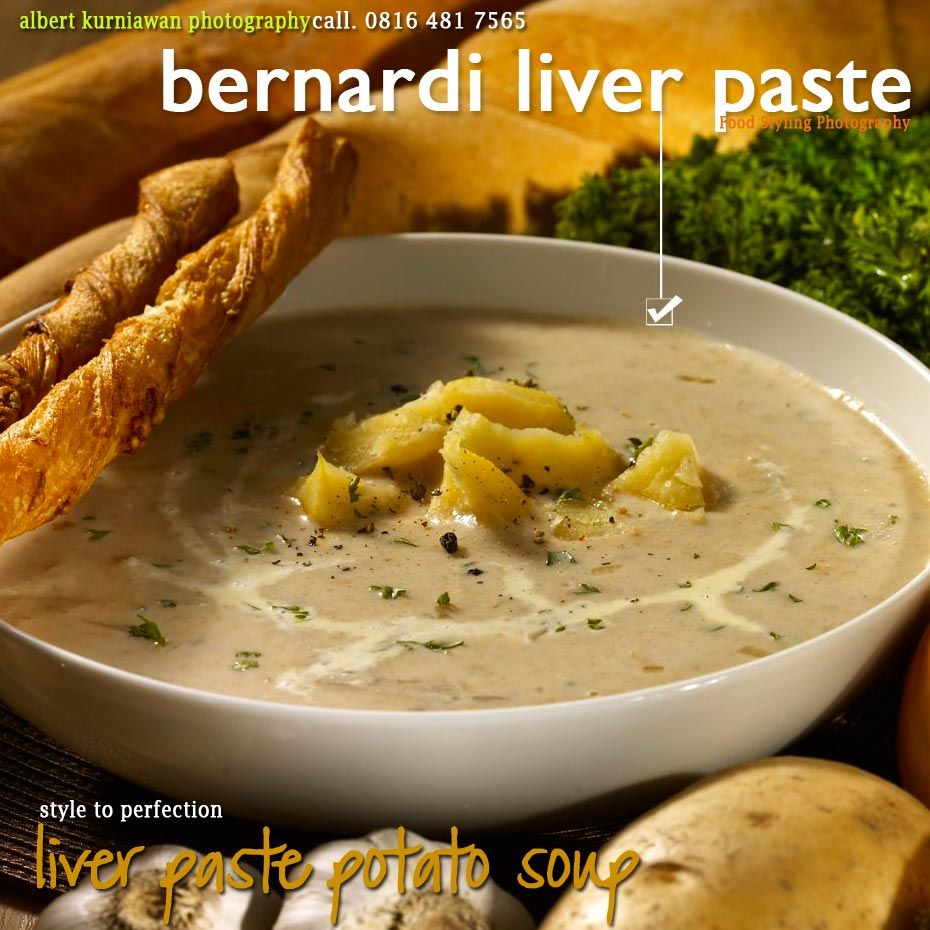 liver paste potato soup