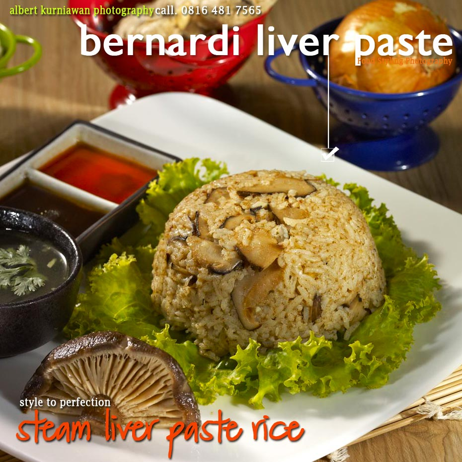 steam liver paste rice